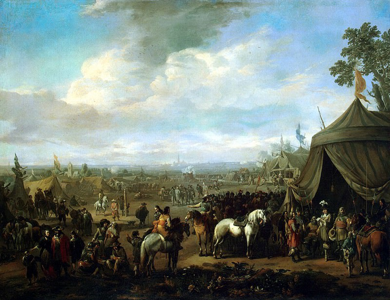 Lingelbah, Johannes - The siege of the Flemish city of Spaniards. Hermitage ~ part 07
