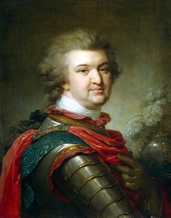 Lampi, Johann Baptist Elder - Portrait of Prince Grigory Alexandrovich Potemkin Tauride. Hermitage ~ part 07