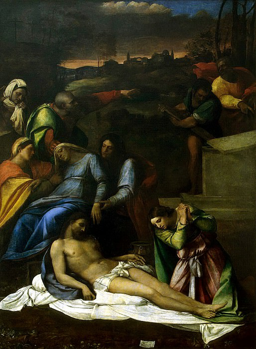 Luciani, Sebastiano - Lamentation of Christ. Hermitage ~ part 07