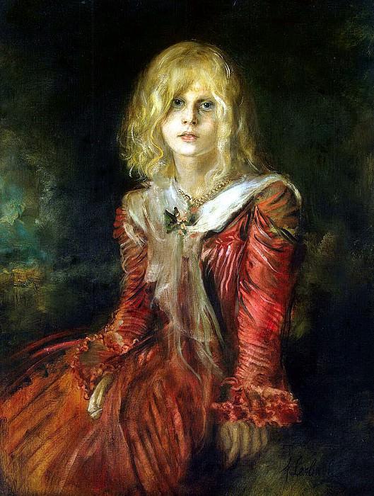 Lenbach, Franz von - Portrait of Marion Lenbach. Hermitage ~ part 07