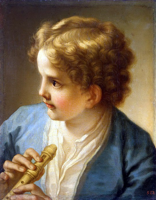 Lootie, Benedetto - Boy with a Flute. Hermitage ~ part 07