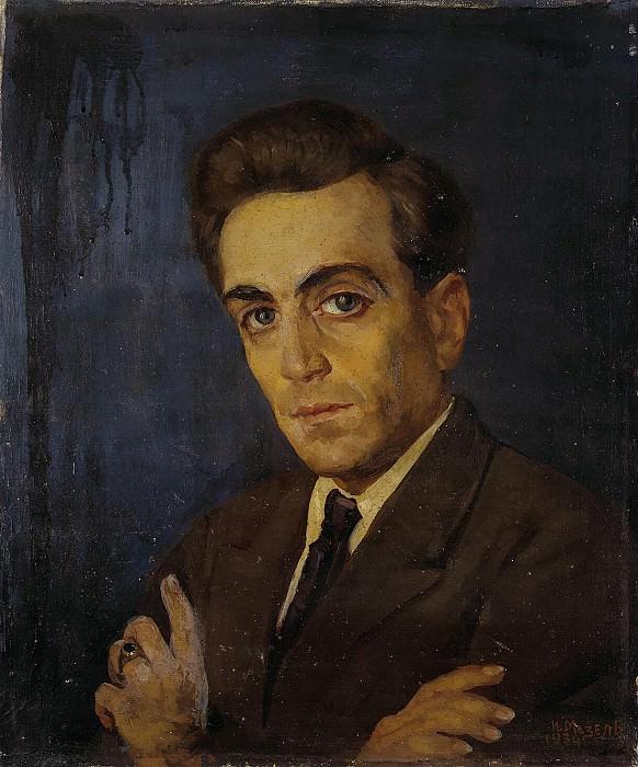 Mazel, Ilya Moiseevich - Portrait of Grigory Diomidovich Dushina. Hermitage ~ part 07