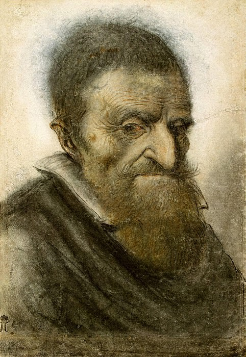 Lano - Portrait of an old man. Hermitage ~ part 07