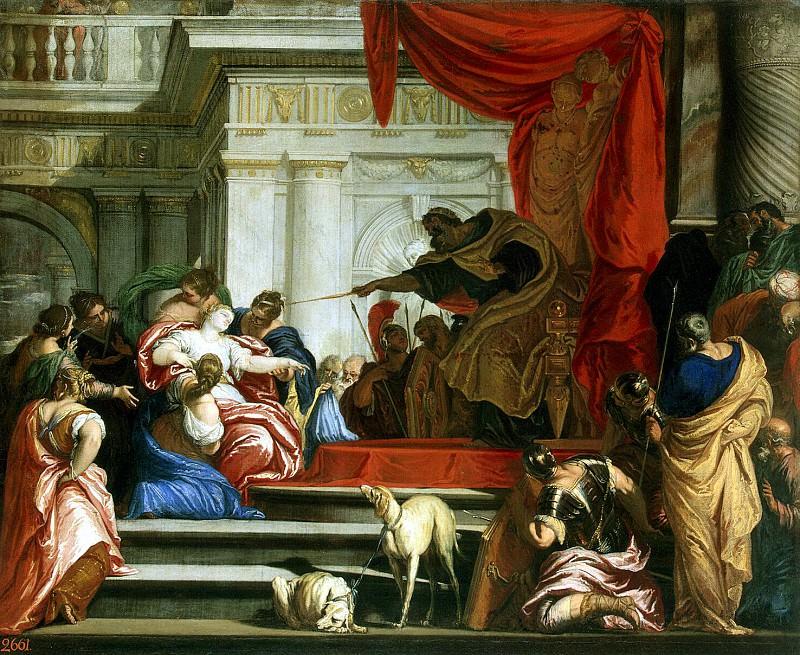 Lefebvre, Valentin - Esther before Ahasuerus. Hermitage ~ part 07