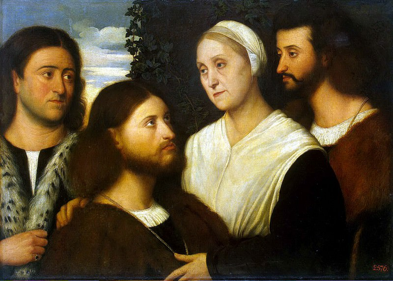 mask, Bernardino - Family Portrait. Hermitage ~ part 07