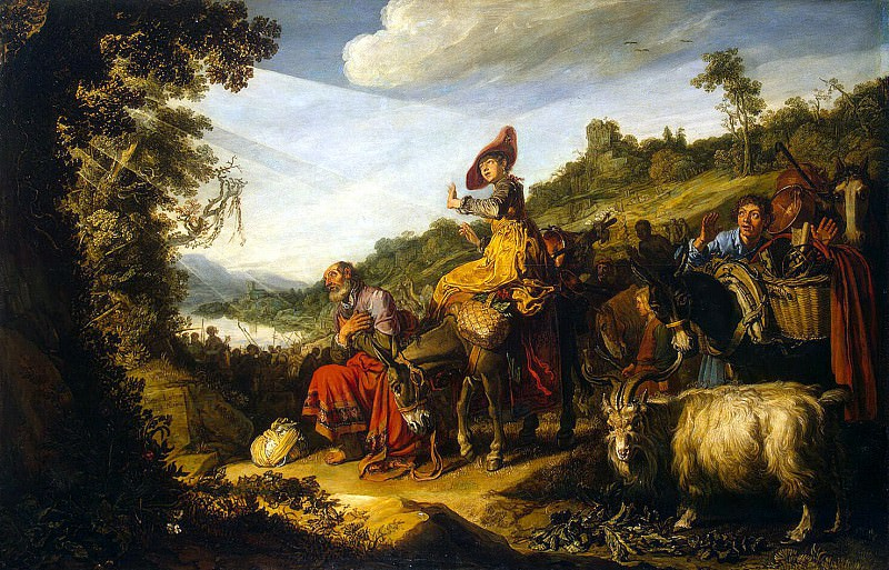 Lastman, Pieter - Abraham on the way to Canaan. Hermitage ~ part 07