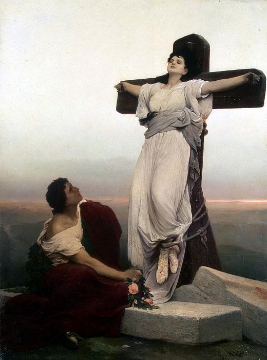 Макс, Габриель Корнелиус фон - Христианская мученица на кресте. Эрмитаж ~ часть 7