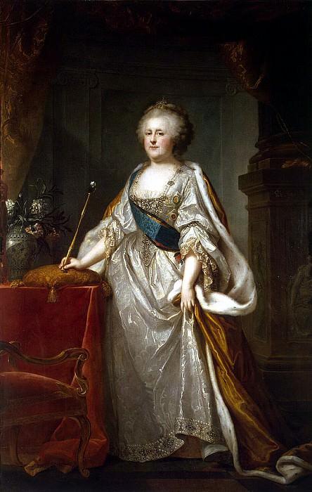 Lampi, Johann Baptist Elder - Portrait of Catherine II (2). Hermitage ~ part 07