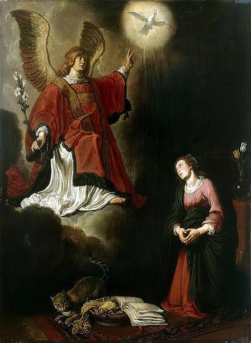 Lastman, Pieter - Annunciation. Hermitage ~ part 07