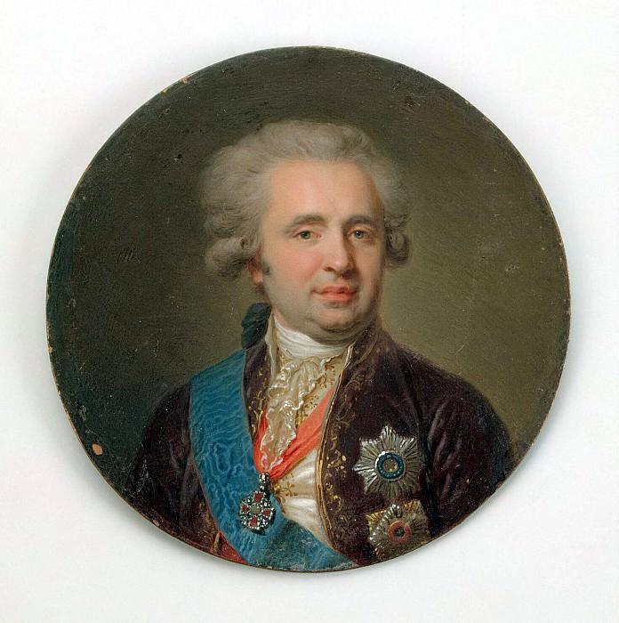 Lampi, Johann Baptist Elder - Portrait of Count Alexander A. Bezborodko. Hermitage ~ part 07
