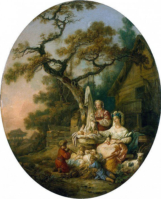 Leprens, Jean-Baptiste - Story of Russian life. Hermitage ~ part 07