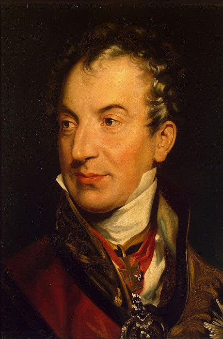 Lawrence Thomas - Portrait K-B. -L. Metternich. Hermitage ~ part 07
