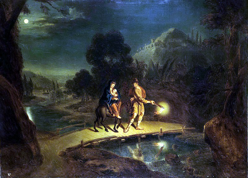 Lyudden, Johann Paul - The Flight into Egypt. Hermitage ~ part 07