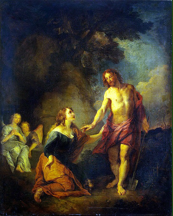 Lafosse, Charles de - Christ Appearing to Mary Magdalene. Hermitage ~ part 07