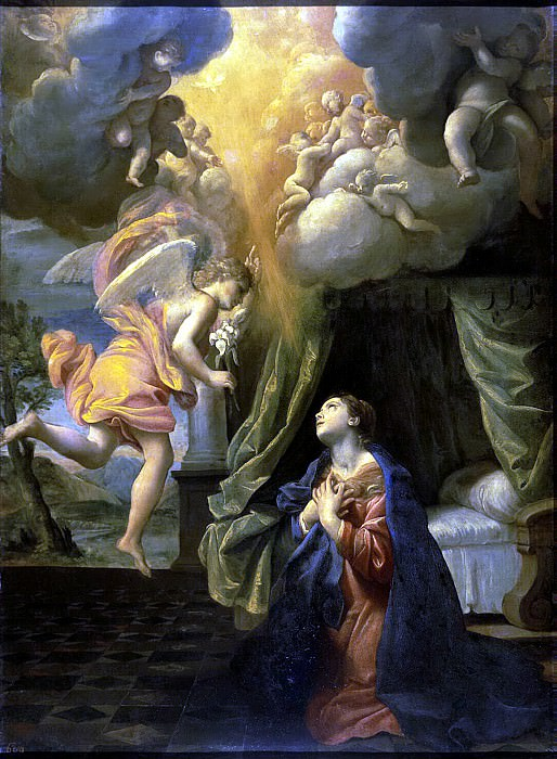 Lanfranco, Giovanni - The Annunciation. Hermitage ~ part 07