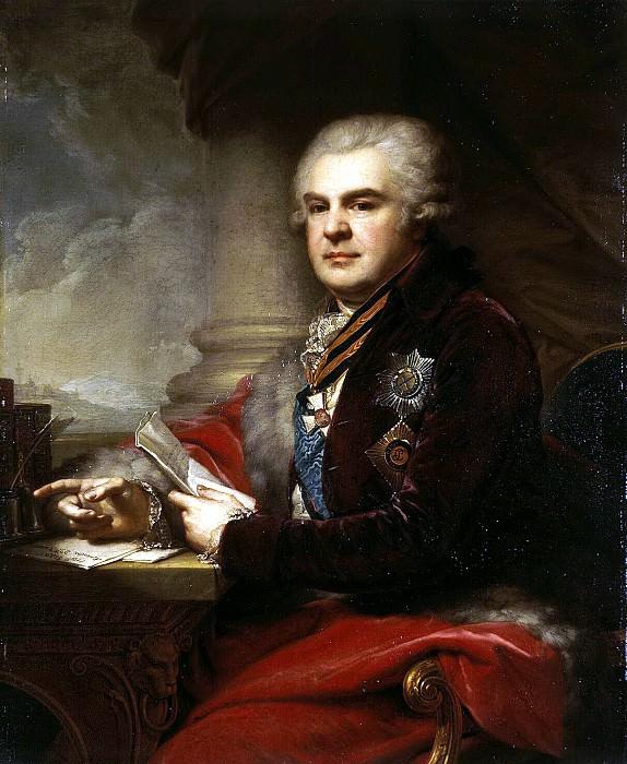 Lampi, Johann Baptist Elder - Portrait of Alexander Samoilov. Hermitage ~ part 07