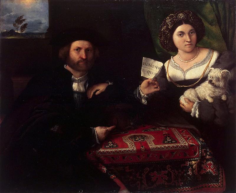 Lotto, Lorenzo - Family portrait. Hermitage ~ part 07
