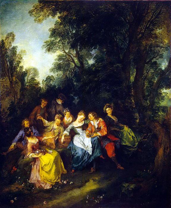 Lancret, Nicola - Spring. Hermitage ~ part 07