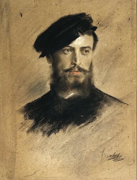 Lenbach, Franz von - Portrait of a Man. Hermitage ~ part 07