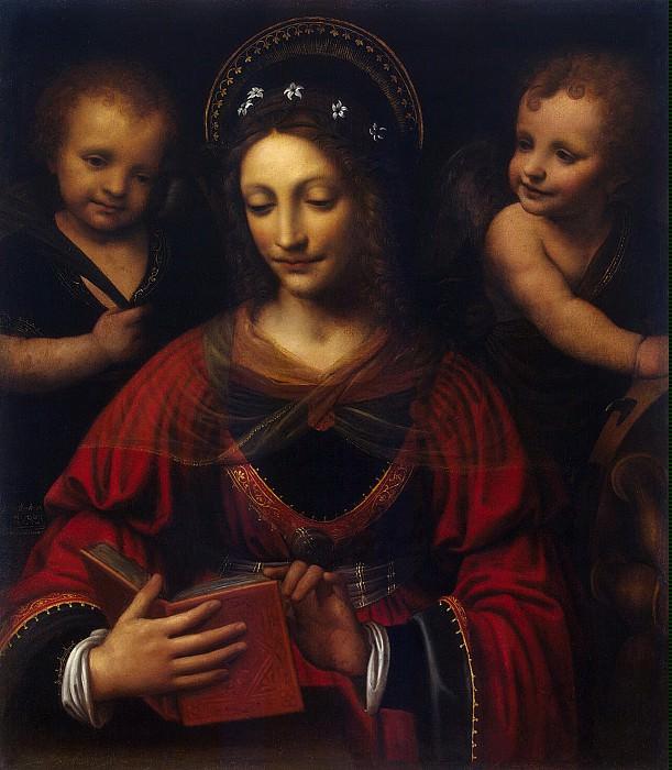 Luini, Bernardino - St Catherine. Hermitage ~ part 07