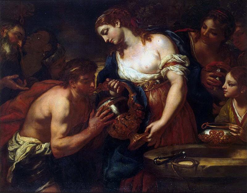 Лот, Иоганн Карл - Елиазар и Ревекка у колодца. Эрмитаж ~ часть 7