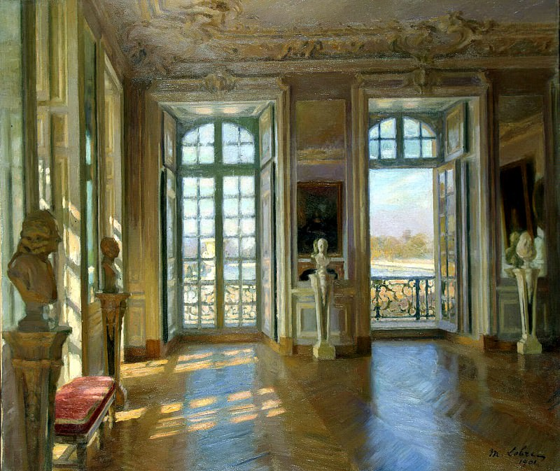 Lobr Maurice - Hall Dauphine in Versailles palace. Hermitage ~ part 07