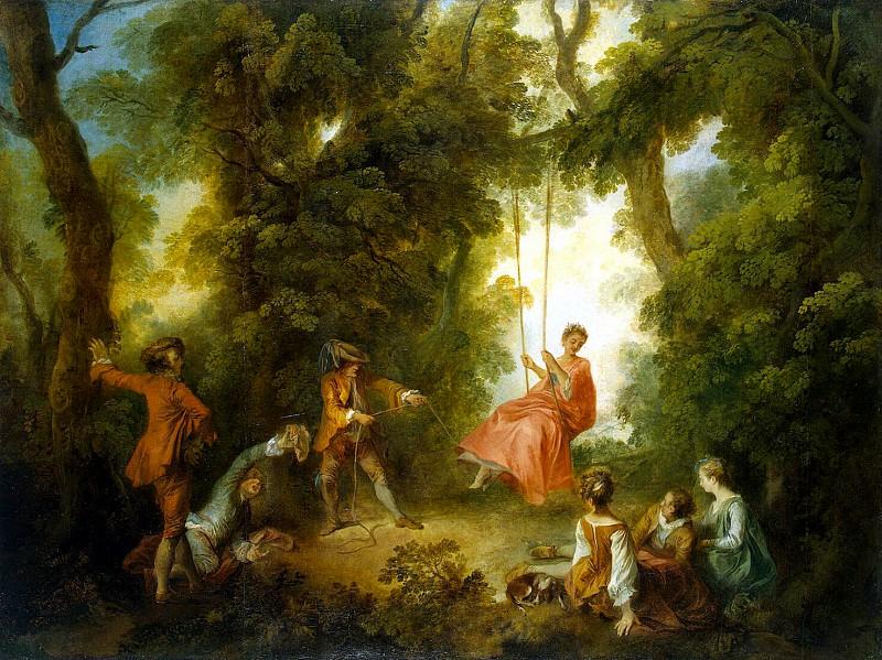 Lancret, Nicola - Swing. Hermitage ~ part 07
