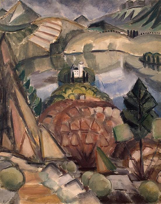 Le Fauconnier, Henri, - Lake. Hermitage ~ part 07