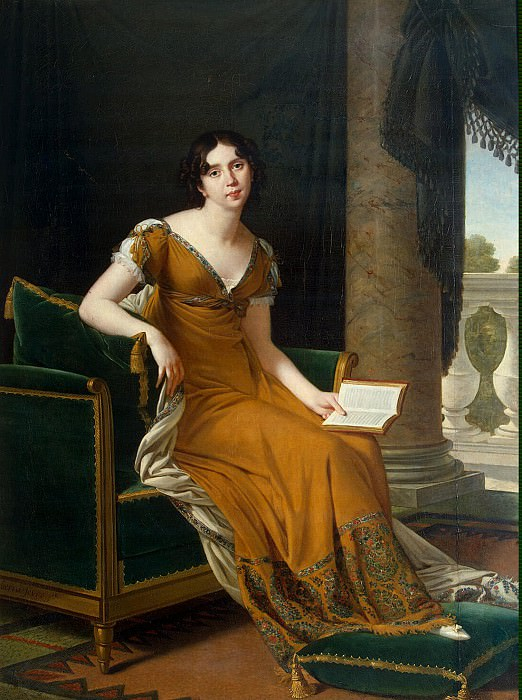 Lefebvre, Robert - Portrait of EA Demidova. Hermitage ~ part 07