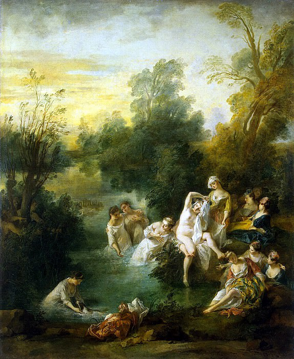 Lancret, Nicolas - Summer. Hermitage ~ part 07