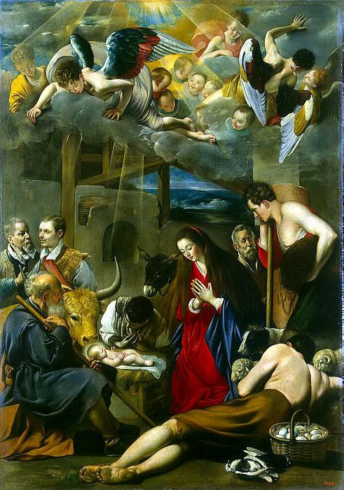 Maina, Juan Bautista - Adoration of the Shepherds. Hermitage ~ part 07