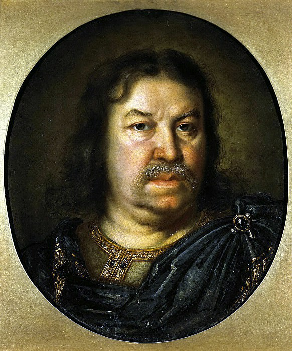 Le Brun Charles - Portrait of Senator J. F. Dolgoruky. Hermitage ~ part 07