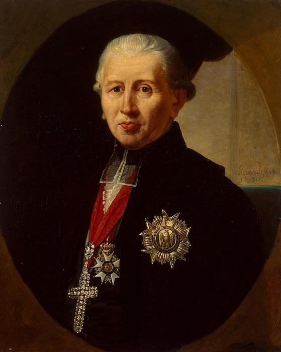 Lefebvre, Robert - Portrait of Karl Theodor von Dalberg. Hermitage ~ part 07