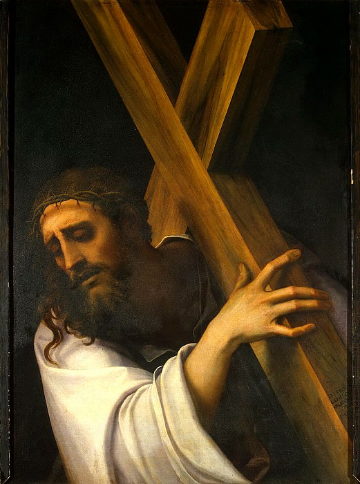 Luciani, Sebastiano - Carrying the Cross. Hermitage ~ part 07