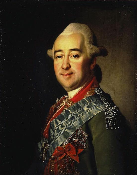 Levitsky Dmitry Grigorievich - Portrait of Mikhail Nikitich Krechetnikov. Hermitage ~ part 07