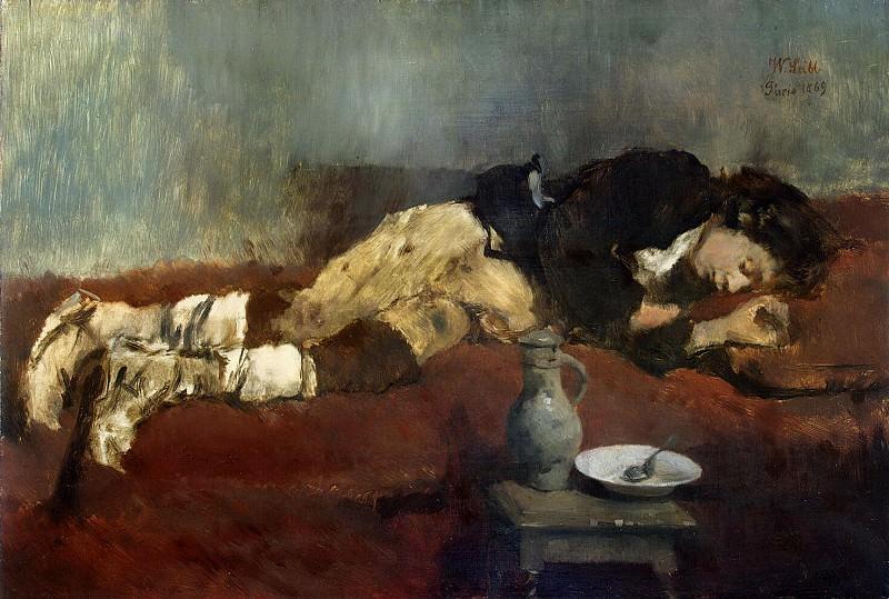 Лейбль, Вильгельм Мария Губертус - Спящий мальчик-савояр. Эрмитаж ~ часть 7