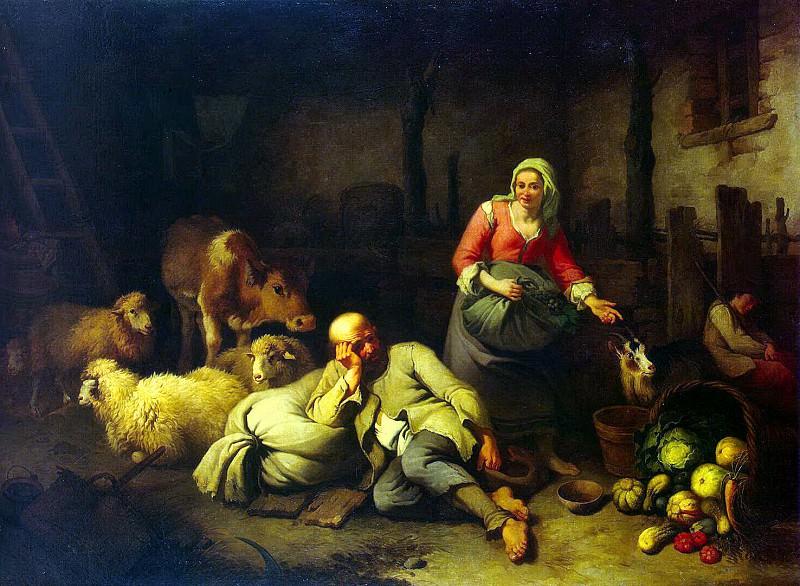 London Francesco - Peasant Family. Hermitage ~ part 07