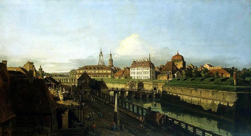 Беллотто, Бернардо - Старые укрепления Дрездена. Эрмитаж ~ часть 1