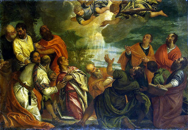 Benfatto del Friso, Alvise - Descent of the Holy Spirit upon the Apostles. Hermitage ~ Part 01