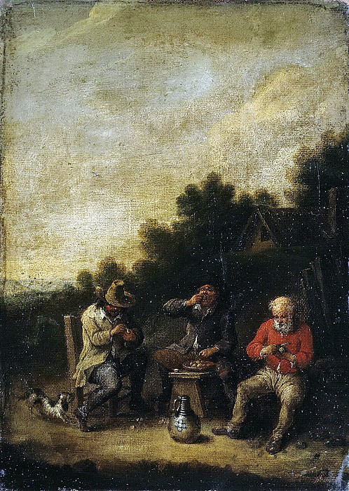 Bout, Peter - Farmers near the tavern. Hermitage ~ Part 01