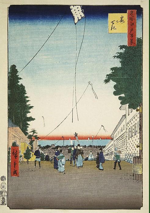 Ando Hiroshige - Sheet Zastava Kasumi. Hermitage ~ Part 01