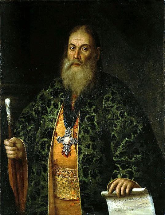 Antropov, Alexei Petrovich - Portrait of FY Dubyanski. Hermitage ~ Part 01