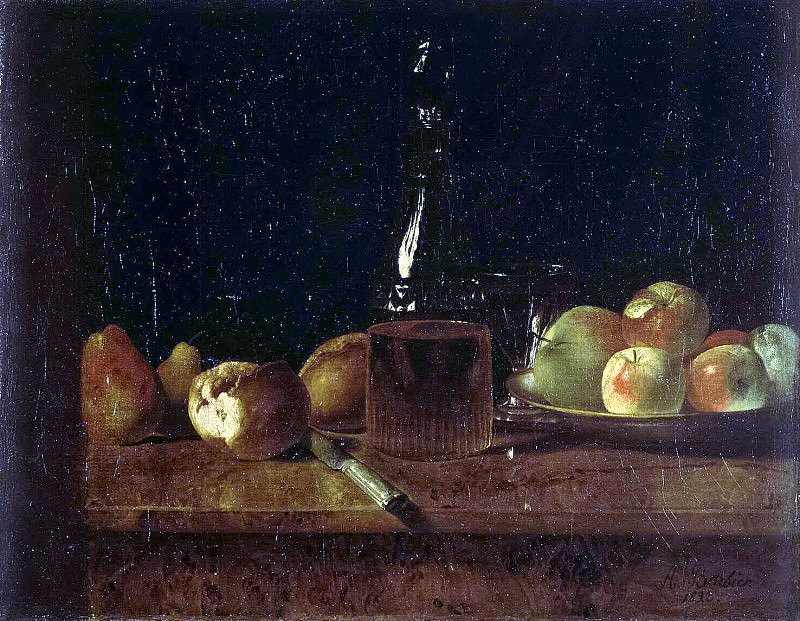 Barbier, A. - Still life with apples. Hermitage ~ Part 01