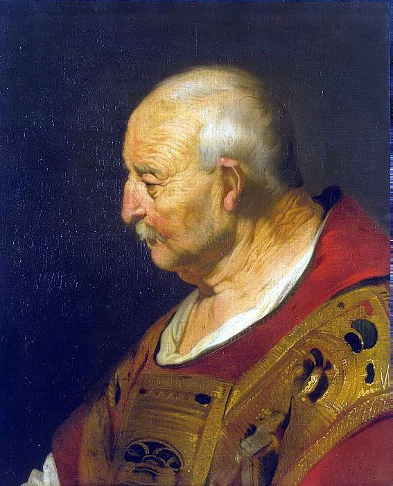 Bakker, Jacob Adriaanse - The head of a bald old man. Hermitage ~ Part 01