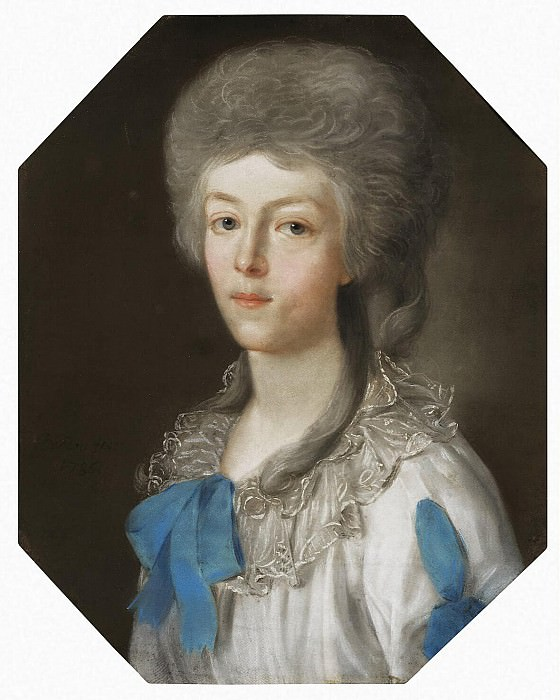 Barda, Johann - Portrait of a young lady. Hermitage ~ Part 01