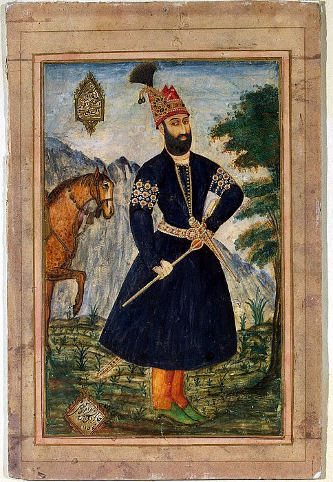 Бахрам - Портрет Надир-Шаха. Эрмитаж ~ часть 1