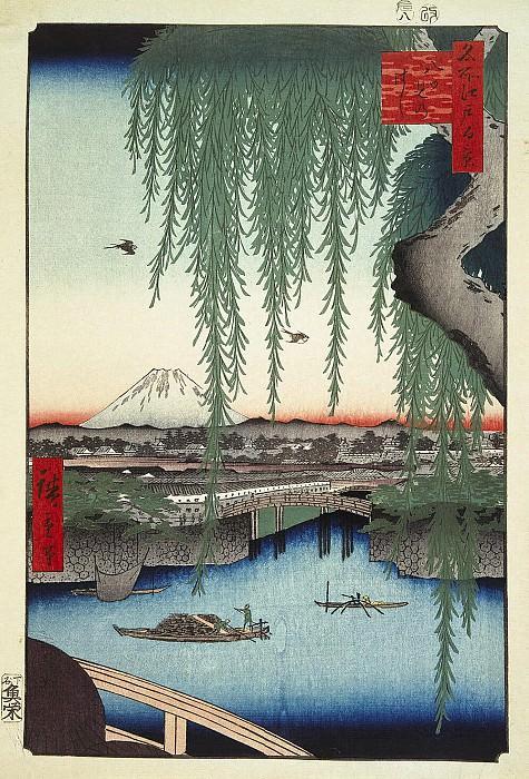 Ando Hiroshige - Sheet Type bridge Yatsumi-no hashi. Hermitage ~ Part 01