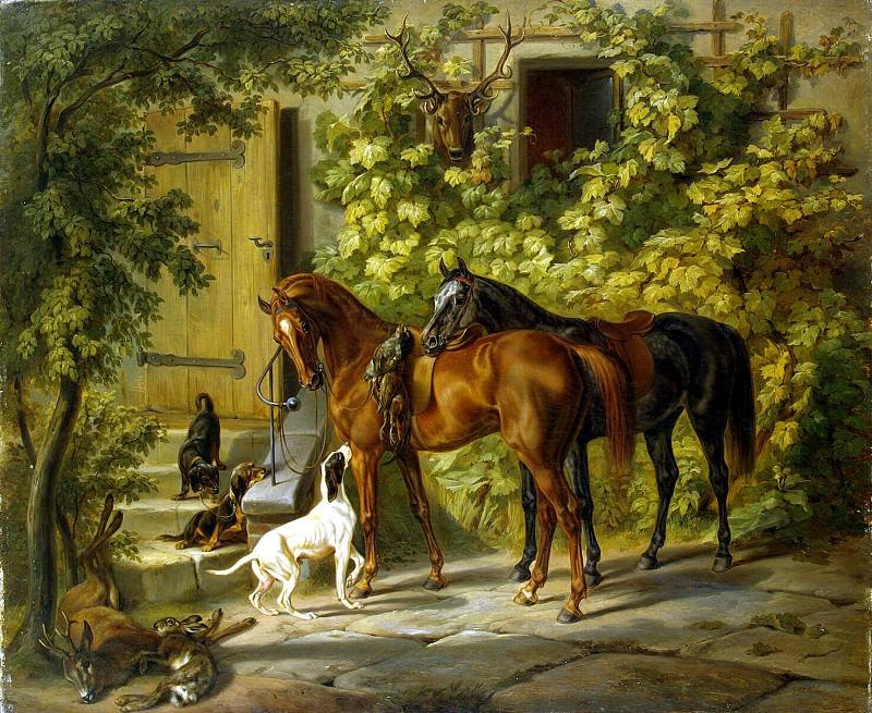 Adam Albrecht - Horses at the door. Hermitage ~ Part 01