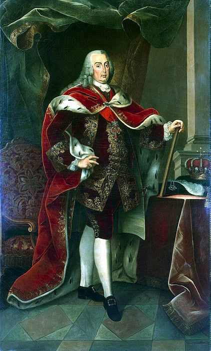 Amaral, Miguel Antonio dy - Portrait of Jose Manuel, King of Portugal. Hermitage ~ Part 01