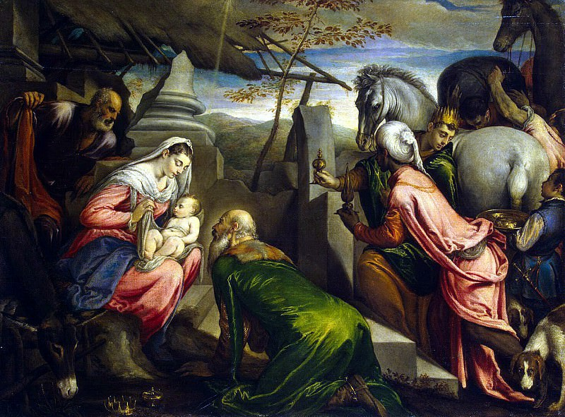 Bassano Jacopo and Francesco - Adoration of the Magi. Hermitage ~ Part 01